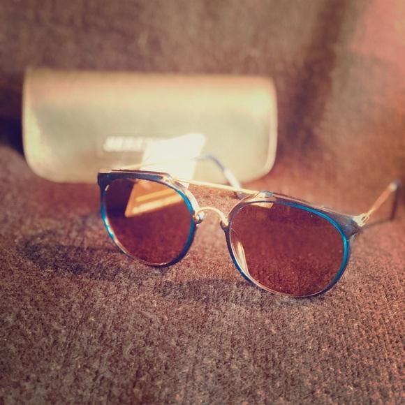 798818d627cc1 Rare Vintage Serengeti Blue Wickets Sunglasses
